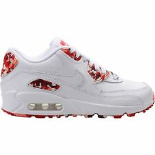 Nike Air Max 90 QS SZ 10 LONDON White Chilling Red Atomic 813150-100