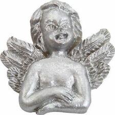 6 Anges Argent sur stickers Décoration de Table Fête Noël Anniversaire