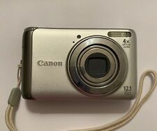 Canon PowerShot A3100 IS 12.1MP Digital Camera Silver