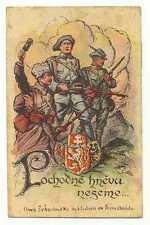 Russian Civil War Propaganda PC Czech Legion RARE