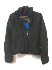 Superdry Windcheater Womens Black Nylon Jacket S(D118)