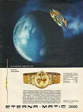 Publicité Advertising 1964 Montre ETERNA MATIC 3000