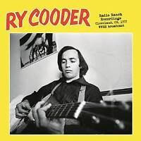 RY COODER - Radio Ranch Recordings, Cleveland, Oh. 1972   vinyl lp ltd