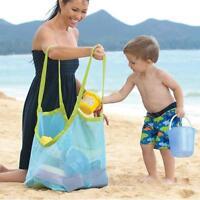 Strand Aufbewahrungstasche Netztasche Strandtasche für Kinder Sandspielzeug ;