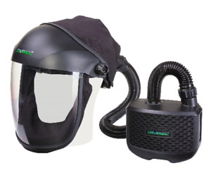SWP Universal Grinding Screen Visor with Momentum PAPR Air Fed System