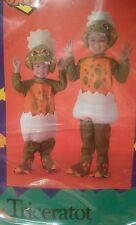 Toddlers costume Triceratot TOOOOOO CUTE NEW Dinosaur Halloween Costume