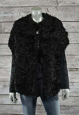 Moncler Premiere Black Sable Shearling Fur Down Jacket 1 S New $3950