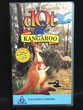 YORAM GROSS DOT & THE KANGAROO RARE VHS VIDEO