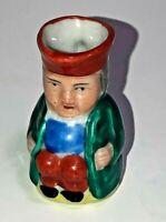 Vintage Miniature Toby Mug Jug - Occupied Japan Porcelain Ceramic Hand Painted