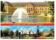 Stuttgart Postcard Germany Neus Schloss Kunstgebaude Staatstheater Kleines Haus