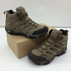 MERRELL MENS UK 7.5 EU 41.5 MOAB 2 MID GTX PECAN WALKING BOOTS RRP £130 EP