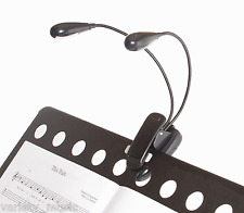 AMS - Music stand light. Dual LED housings mounted on flexible gooseneck arms.