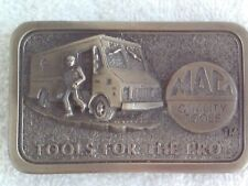 "MAC TOOLS, 3D BELT BUCKLE, LIMITED EDITION THIRD IN A SERIES ""TOOLS FOR THE PRO"""