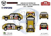 [FFSMC Productions] Decals 1/24Lancia Delta HF Integrale 16V Grifone Sanremo 90