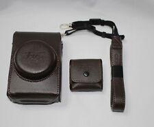 NEW Genuine FUJIFILM X10 X20 Leather Case (Brown)