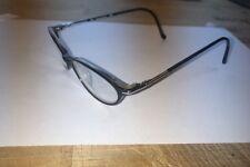 LAUREN HUTTON Rx Eyeglasses, L019, Ebony, Youth/ Petite 48[]16[]130