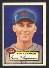 1952 TOPPS #391 BEN CHAPMAN (CINCINNATI REDS) ~ HIGH NUMBER