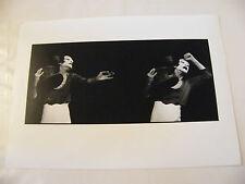 Photographie Mime Marcel Marceau Théâtre des Champs Elysées 1987 par Enguerand