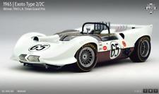 Chaparral 2/2c 65 1st at 1965 La Times GP H. Sharp Exoto RLG18147 1/18