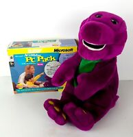 ActiMates 1997 Interactive Barney Plush with PC Pack Software and Transmitter