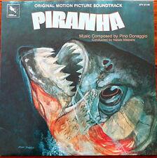 OST - PIRANHA Soundtrack - LP Vinyl US 1979 Varese Sarabande Pino Donaggio
