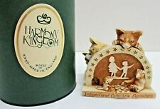 """New listing Harmony Kingdom """"Sneak Preview"""" 1998 Ice Attendees -Signed By Martin & Peter -"""