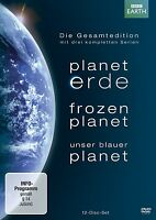 PLANET ERDE/FROZEN PLANET/UNSER BLAU 12 DVD NEU