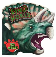 Depesche 5143 Dino World Malbuch - als Dinosaurierkopf