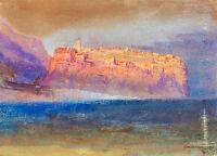 Corsica A1 by Joseph Mallord William Turner Art Print