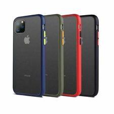 Bumper Anti-Fall Case For Apple 11 X 8 7 6 Se Ultra Thin TPU & PC Cover