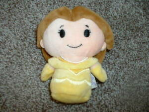 "Hallmark Itty Bittys Belle Plush Disney Princess Mini Stuffed Toy 4.5"" Beauty"
