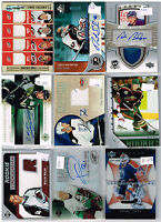 HUGE Lot Of 2005-06 Autos - Game Used - Rookies - Parallels - Inserts - Base