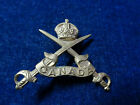 Orig WW1 Cap Badge 'Canadian Physical Instructor'  Small Pattern Crossed Swords