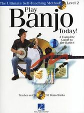 Play Banjo Today Level 2 Learn to Play Beginner Country Music Book & CD LESSON