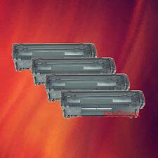 4 Toner Q2612A 12A for HP LaserJet 1012 3020 3030 3050