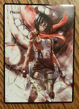 Magic the Gathering Basic Land MTG Altered art Attack on Titan Mikasa Plains