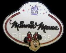 DISNEY PIN HKDL - Name Tag Mystery Collection - Minnie Mouse-  Two year old pin!