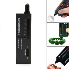 Professional High Accuracy LED Diamond Tester Jewelry Gem Selector Test Pen Tool