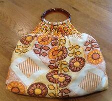 Casual 100% Cotton Vintage Bags, Handbags & Cases
