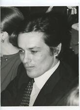 DELON ALAIN PHOTOGRAPHIE ARGENTIQUE PRESSE 1969 VINTAGE PRESS PHOTOGRAPH
