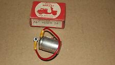 Condensateur 76c VESPA 54, marque MAILLET. Neufs d'époque.
