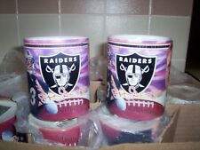 OAKLAND RAIDERS COFFEE CUPS