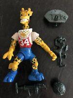 TMNT Teenage Mutant Ninja Turtles Halfcourt Giraffe 1993  -Complete Accessories