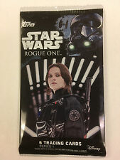 STAR WARS ROGUE ONE Series 1 Trading Cards (1 Pack)