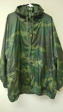 Wet Weather Camouflage Parka Jacket Size Medium ORC Industries
