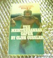 The Mediterranean Caper 1980 Clive Cussler Vintage Paperback