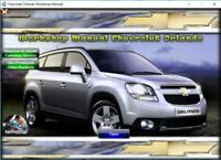 FACTORY SERVICE MANUAL FSM REPAIR MANUAL FOR CHEVROLET ORLANDO 2011 - 2012