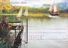 Poland prepaid postcard (Cp 1395) Polish landscapes MAZURY