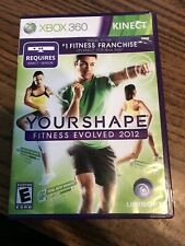 XBOX 360 - Kinect Your Shape - Fitness Evolved 2012 - missing sensor card