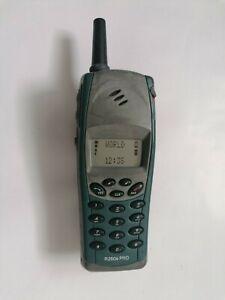 ☆ Ericsson R250s PRO Blue Handy Dummy Attrappe ☆ retro mobile ☆ Vintage  Sammler